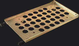 3U HES-FBL Mounting Tray